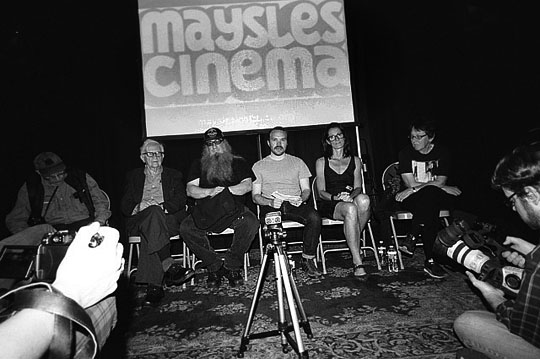 Maysles Panel Discussion | New York 2012